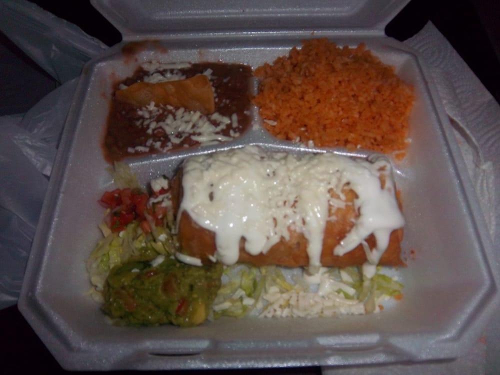 Dona Maria - Shredded Beef Chimichangas w/Rice & Beans - Santa Clara ...