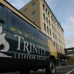 Trinity Lutheran College - The school view from California St. - Everett, WA, Vereinigte Staaten