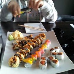 Aroma restaurant sushi 68 photos sushi bars for Aroma japanese cuisine