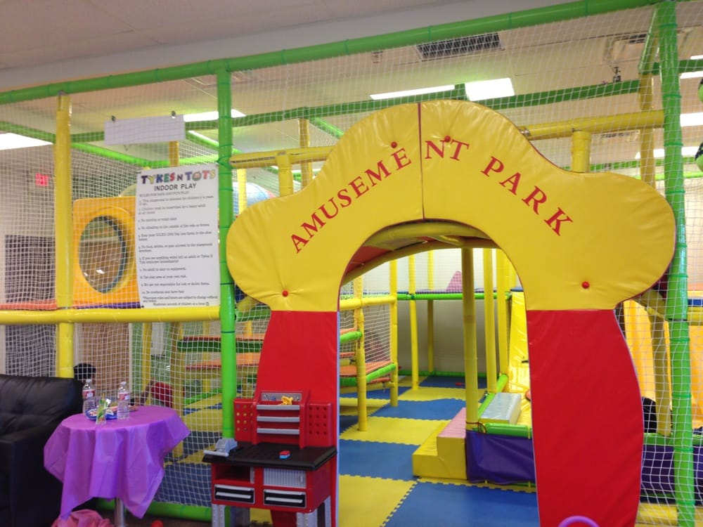 Jungle gym with slides swings and ball pit yelp for Ball pits near me