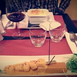 Les plats, delicieux !