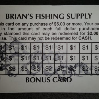 Brian s fishing supply 20 photos outdoor gear for Brian s fishing supply