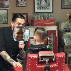 Hawleywoods Barber Shop - Costa Mesa, CA, United States. Turning boy ...