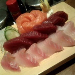 Close up and personal Sushimi