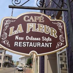 Cafe La Fleur Menu Laurel