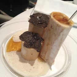 Truffled bone marrow