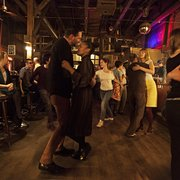 Sunday afternoon with swing dancing