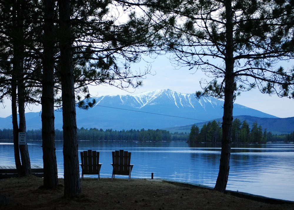 Millinocket Lake Fishing New England Outdoor Center Millinocket Lake Amp Katahdin From Neoc