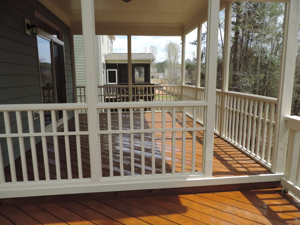 After Two Tone Deck Paint And Stain Yelp