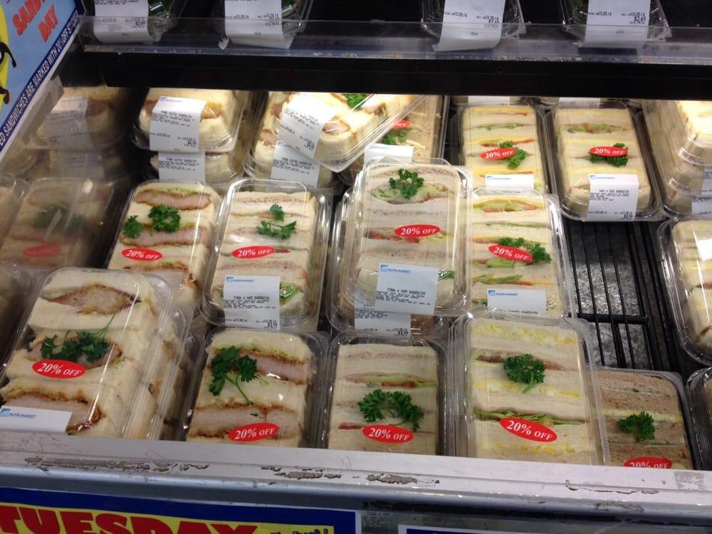 Nijiya Market - Torrance, CA, United States. Pork Katsu Sandwich!!