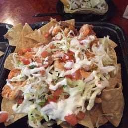 ... baja nachos are my favorite here!!! That, and the fish tacos are