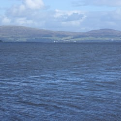 View across the Clyde from Kilchattan Bay, Isle of Bute