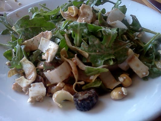 Arugula & Endive Lettuces, Dried Figs, Toasted Hazelnuts, Caramelized ...