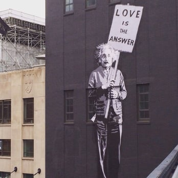 the high line new york ny united states einstein and