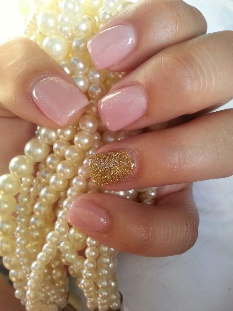 Acrylic Nail Light Pink Abd