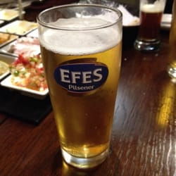 Efes beer (Turkish)