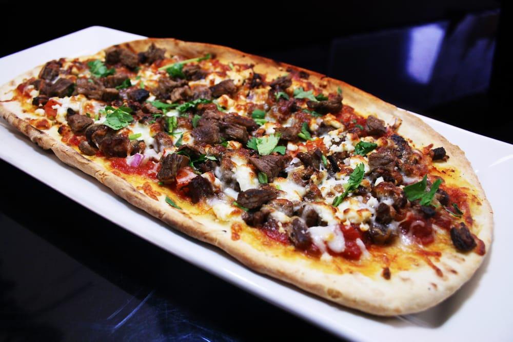 Carne Asada on The Grill Grille Carne Asada Pizza