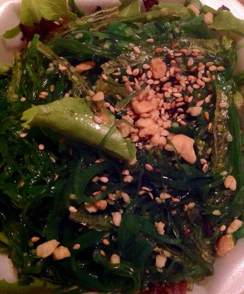 Wild Seaweed Salad Recipe — Dishmaps