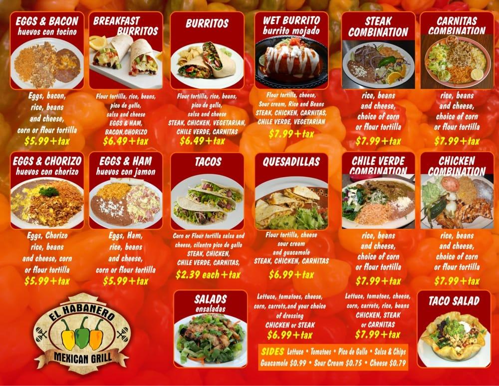 Habanero Mexican Restaurant Near Me
