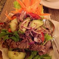 Yam Nueah (thail. Rindfleischsalat)