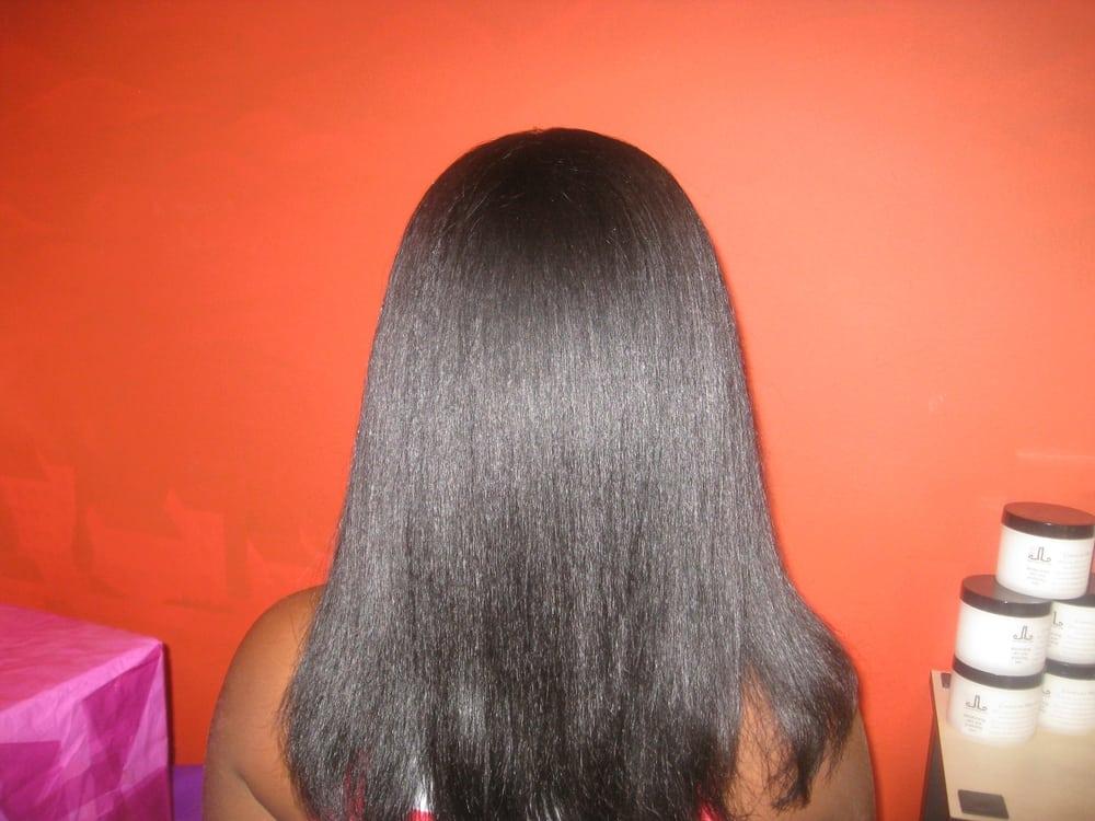 Silk Press On Natural Hair Near Me