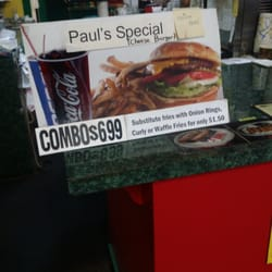 Paul's Burger Joint logo