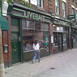 Livebait, London