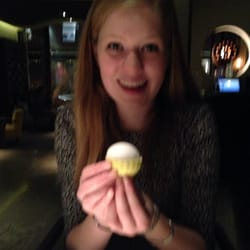 Perfect little lemon sorbet