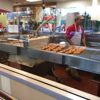 Enjoy the ultimate Krispy Kreme experience and see our doughnuts being made in our unique stores. Krispy Kreme Canada has stores in Toronto, Mississauga, Greenfield Park (Montreal), and Quebec City.