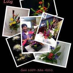 The Gilded Lily - Toi Mulligan is a professional florist who has continually studied the unique art of Ikebana for thirty years! www.gildlily.com - Spokane, WA, Vereinigte Staaten