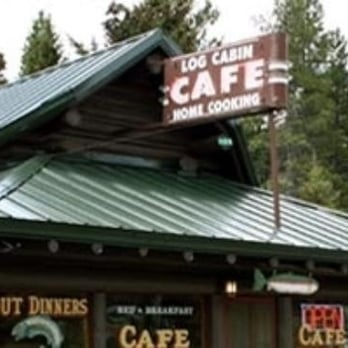 Log cabin cafe cafe choteau mt united states for Log cabin cafe