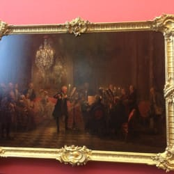 Flötenkonzert Friedrich des Großen in…