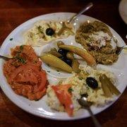 Mixed Appetizers... Mizra Ghassemi,…