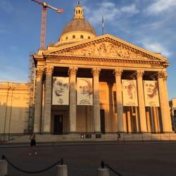 Le Panthéon - Paris, France. Under Construction...