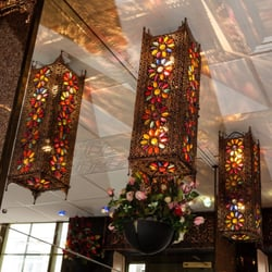 The sumptuous surroundings of the Delhi Brasserie in Soho
