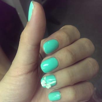 Color Nails Salon - San Jose, CA, United States. Shellac nails