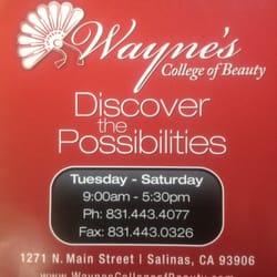 Wayne's College of Beauty - Wayne's - Salinas, CA, Vereinigte Staaten