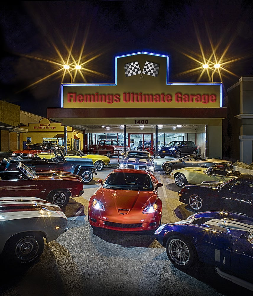Flemings ultimate garage car dealers 1400 rockville for Garage md auto