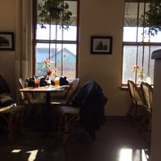 Sunroom Cafe   Madison, WI, United States. Granite Tabletops And Plastic  Wicker Chairs ...