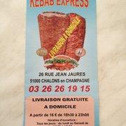 Kebab Express, Châlons en Champagne, Marne