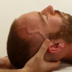 releasing the neck muscles and cervical…