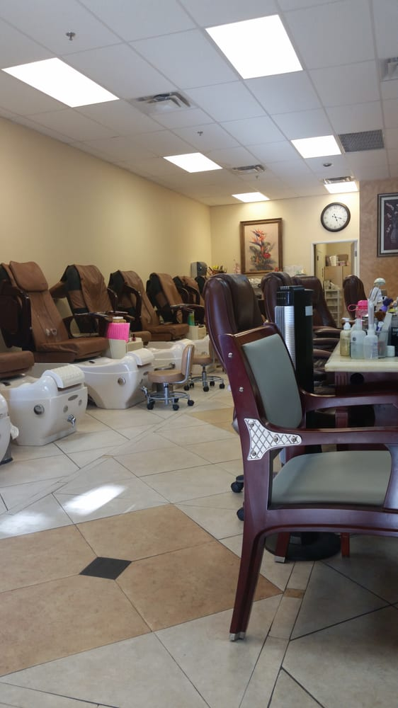 Above and beyond nails spa by jeannie nail salons for Above and beyond beauty salon