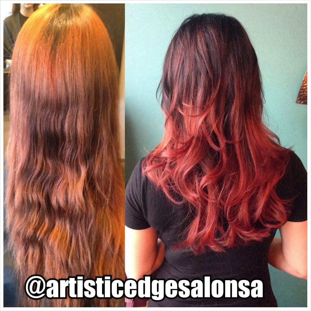 Artistic edge hair salon 60 photos hairdressers for Edge hair salon