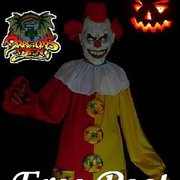 Our best seller... Scary Clown Made By The Dragons Den Blackpool