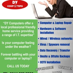 DY Computers, Doncaster, South Yorkshire