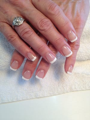 Master Nails - Gel French manicure by OPI - Burbank, CA, United States