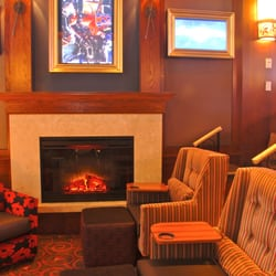 Cinetopia The Fireplace In The Movie Parlor Theater 12 Beaverton Or United States