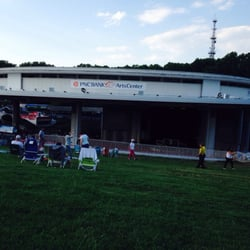 Pnc Bank Arts Center Holmdel Nj United States Pnc Arts Center An Hour Before Start Of Show