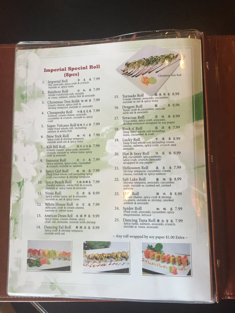 Imperial asian cuisine and sushi bar 39 photos sushi for Asia sushi bar and asian cuisine mashpee