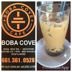 Boba Cove & Café logo
